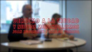 Joan Subirants - Carlos Tomada