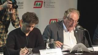Axel Kicillof y Carlos Heller - 3er Congreso de Economía Política en el CCC