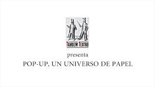 Pop-Up, un universo de papel