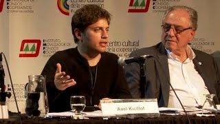 Axel Kicillof y Carlos Helller