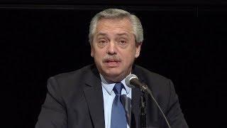 Alberto Fernandez en el CCC