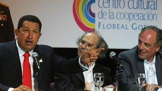 Hugo Chávez Frías en el Centro Cultural de la Cooperación