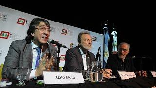 Galo Mora - La trascendencia del triunfo de Rafael Correa para el porvenir de Nuestra América