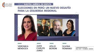 Elecciones en Perú. Verónika Mendoza, Juan Carlos Junio, Atilio Boron, Silvina Romano